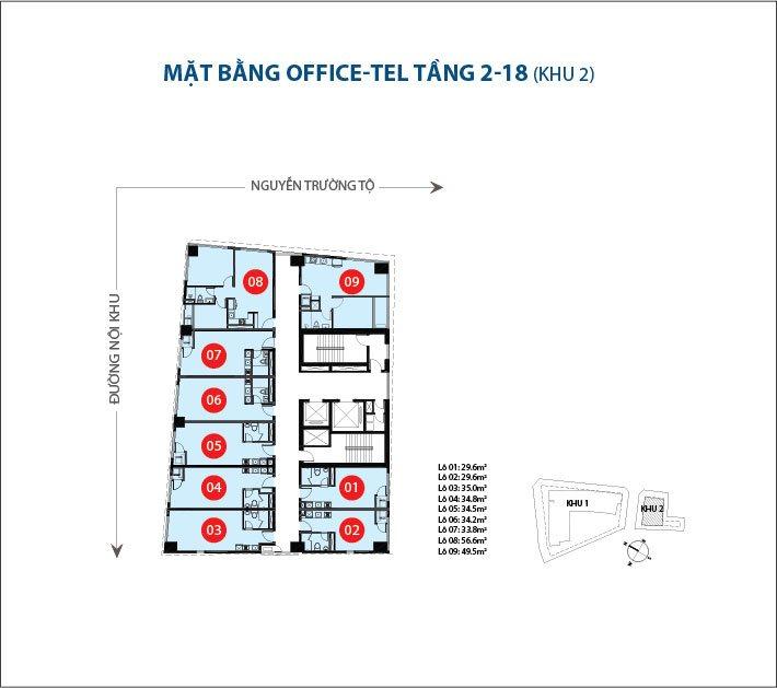 Bán officetel Saigon Royal, Quận 4, diện tích 50m2