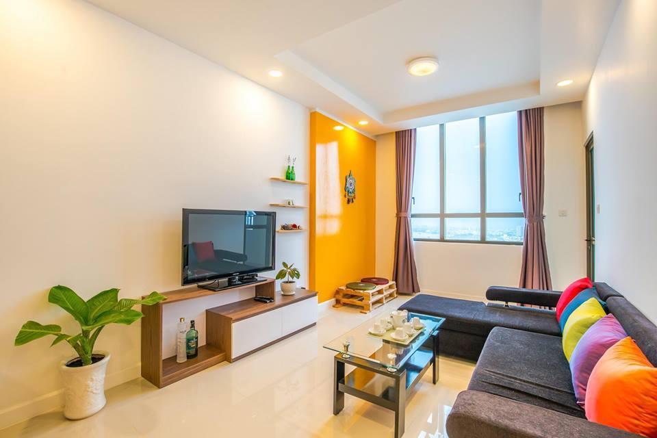 Cho thuê căn hộ Sài Gòn Royal từ 75m2, view công viên